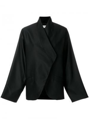 Куртка свободного кроя Toteme. Цвет: чёрный