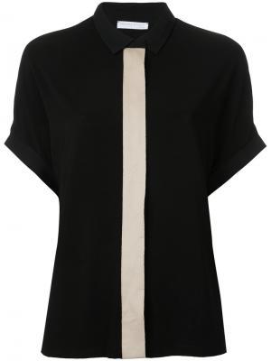 Рубашка с короткими рукавами Fabiana Filippi. Цвет: чёрный