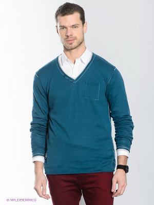 Пуловер Alcott. Цвет: морская волна