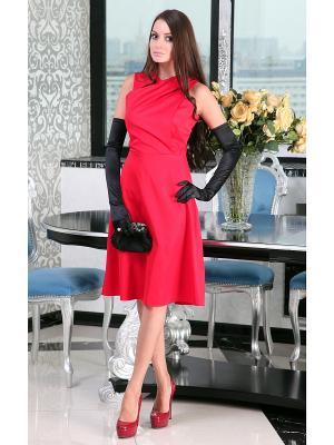 Платье Lussotico. Цвет: малиновый