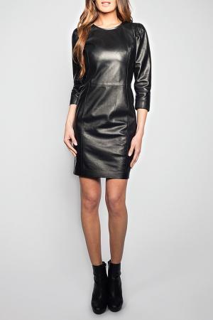 Платье Giorgio. Цвет: black