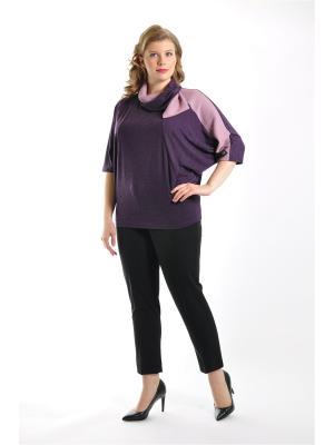 Блузка Forus. Цвет: сиреневый, фиолетовый