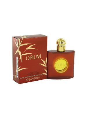 Opium lady edt 50 ml Yves Saint Laurent. Цвет: коричневый