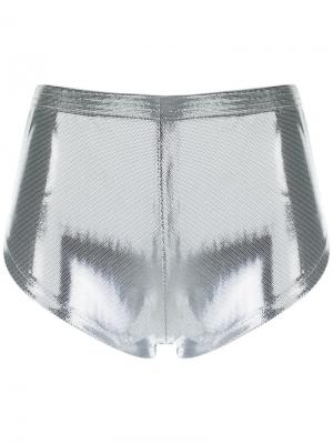 Metallic shorts Adriana Degreas. Цвет: none