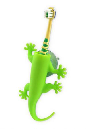 Держатель для зубной щетки J-Me. Цвет: зеленый