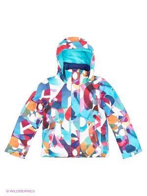 Куртка ROXY. Цвет: белый