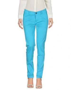 Повседневные брюки ANOTHER LABEL. Цвет: бирюзовый