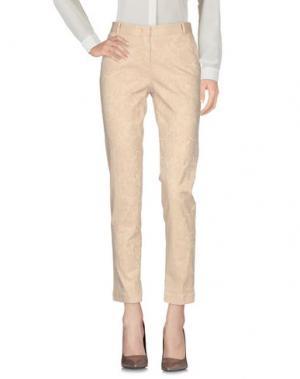 Повседневные брюки HEAVY PROJECT. Цвет: бежевый