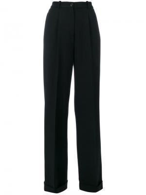 Широкие брюки Ermanno Scervino. Цвет: чёрный