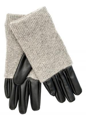 Перчатки Befree. Цвет: черный