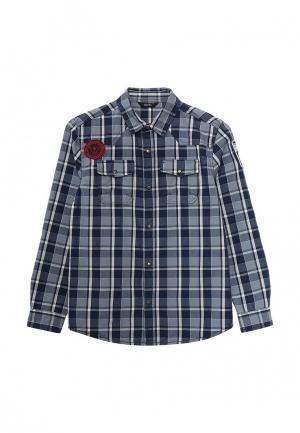 Рубашка Guess. Цвет: синий