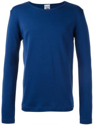 Кофта Rite с длинными рукавами S.N.S. Herning. Цвет: синий