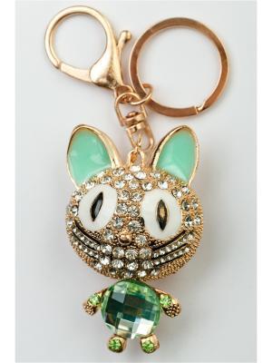 Брелок для сумки и ключей Fransua Ardy. Цвет: зеленый, оливковый, серо-зеленый