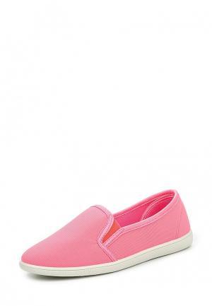 Слипоны Ideal. Цвет: розовый