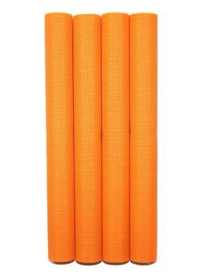 Плейсматы,4 шт DiMi. Цвет: оранжевый