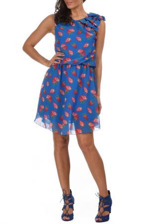 Платье AZURA. Цвет: синий