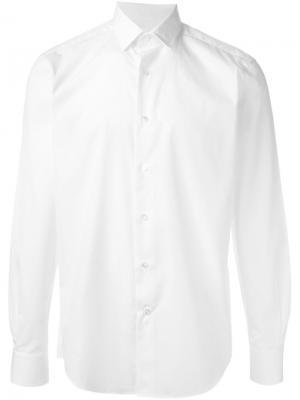 Классическая деловая рубашка Lanvin. Цвет: белый