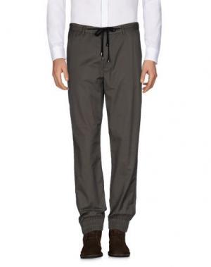 Повседневные брюки TOM REBL. Цвет: темно-зеленый