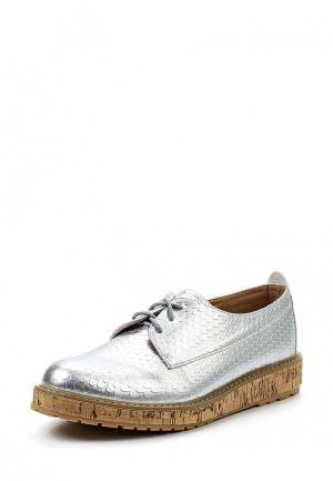 Ботинки Sweet Shoes. Цвет: серебряный