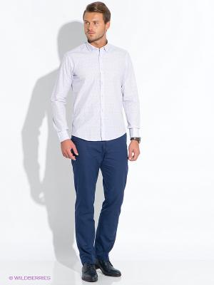 Рубашка BAWER. Цвет: сиреневый