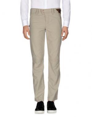 Повседневные брюки MARITHÉ + FRANÇOIS GIRBAUD. Цвет: серый