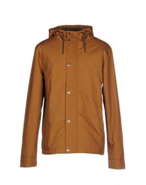 Куртка RVLT/REVOLUTION. Цвет: верблюжий