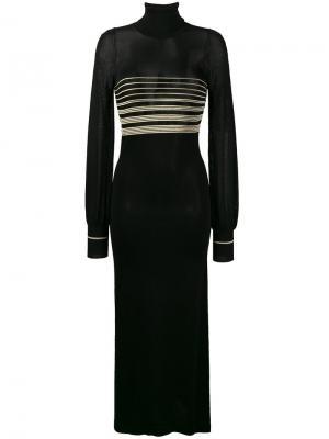 Платье Golborne Disco Bella Freud. Цвет: чёрный
