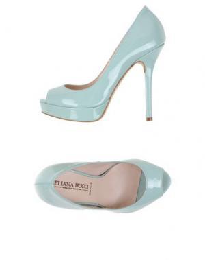 Туфли ELIANA BUCCI. Цвет: светло-зеленый