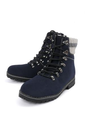 Ботинки VivaKid. Цвет: синий