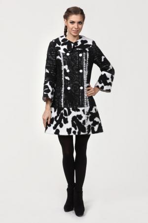 Пальто Yuko-Selena. Цвет: черный, белый