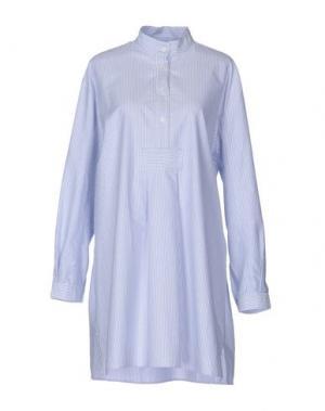Ночная рубашка THE SLEEP SHIRT. Цвет: небесно-голубой