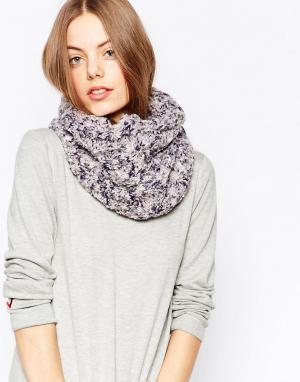 Pia Rossini Трикотажный шарф‑снуд. Цвет: серый