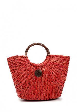 Сумка Bata. Цвет: красный