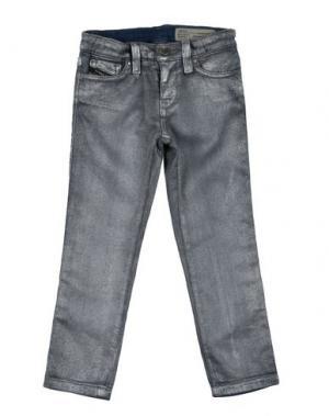 Джинсовые брюки DIESEL. Цвет: серый