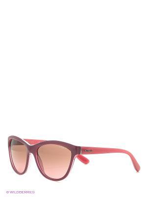 Солнцезащитные очки Vogue. Цвет: сливовый