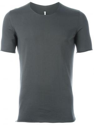 Классическая футболка Label Under Construction. Цвет: серый