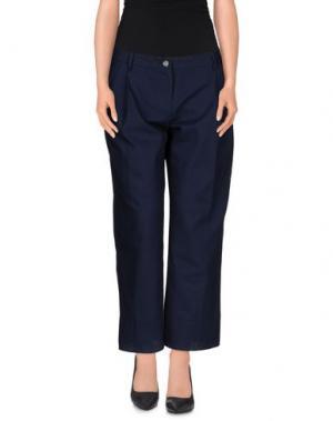 Повседневные брюки DANIELA PANCHERI. Цвет: темно-синий