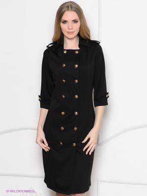 Платье Enna Levoni. Цвет: черный