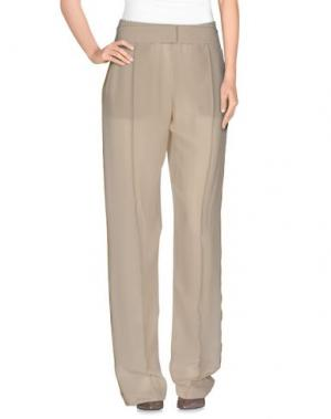 Повседневные брюки PINKO UNIQUENESS. Цвет: слоновая кость