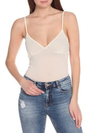 Блузка-топ ERMANNO BY SCERVINO. Цвет: 002 cream