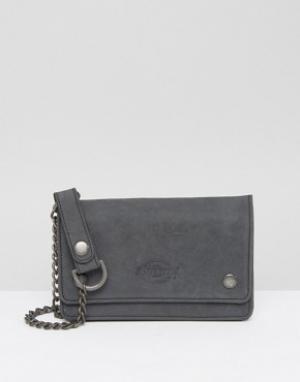 Dickies Кожаный кошелек Deedsville. Цвет: черный