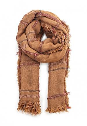 Палантин Venera. Цвет: коричневый