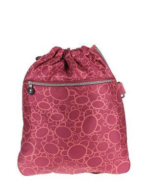 Рюкзак Happy Charms Family. Цвет: бордовый, оранжевый