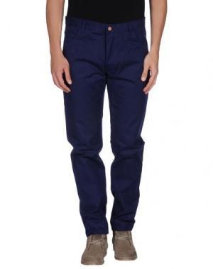 Повседневные брюки OLIVER SPENCER. Цвет: темно-синий