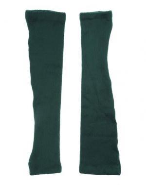 Перчатки 1-ONE. Цвет: зеленый