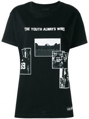 Футболка  Youth Always Wins Les (Art)Ists. Цвет: чёрный