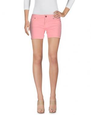 Джинсовые шорты BASICON. Цвет: розовый