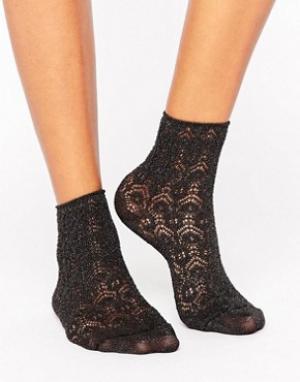Falke Короткие черные носки Sri Lanka. Цвет: черный