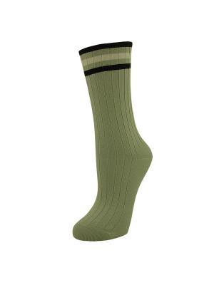 Носки, 2 пары ГРАНД. Цвет: серо-зеленый