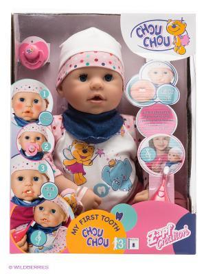 Игрушка CHOU Кукла Мой первый зуб ZAPF. Цвет: розовый